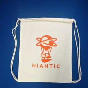 Niantic drawstring bag